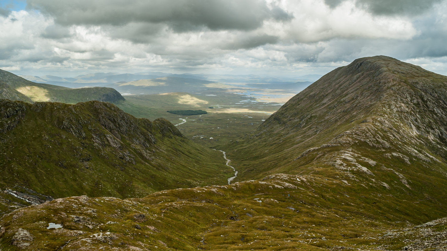 Rannoch Moor and Stob a'Choire Odhair (945m).