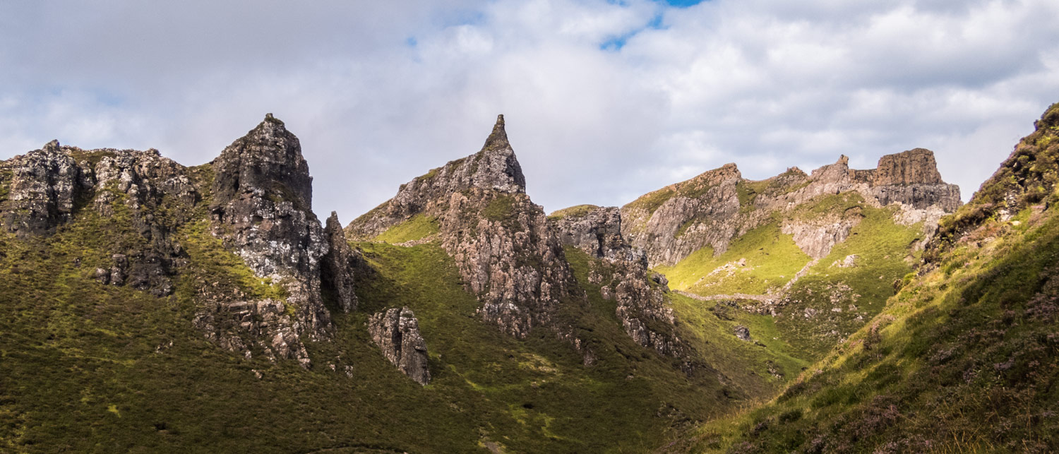 The spectacular rock formations of the Quiraing never fail to amaze me.