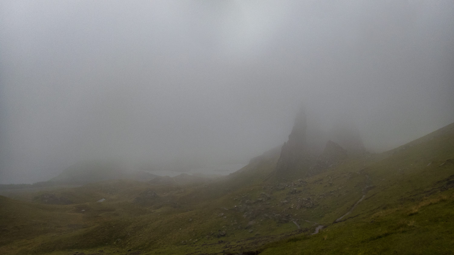 Two trips in nine months to the Old Man of Storr and this is the best view I've seen.