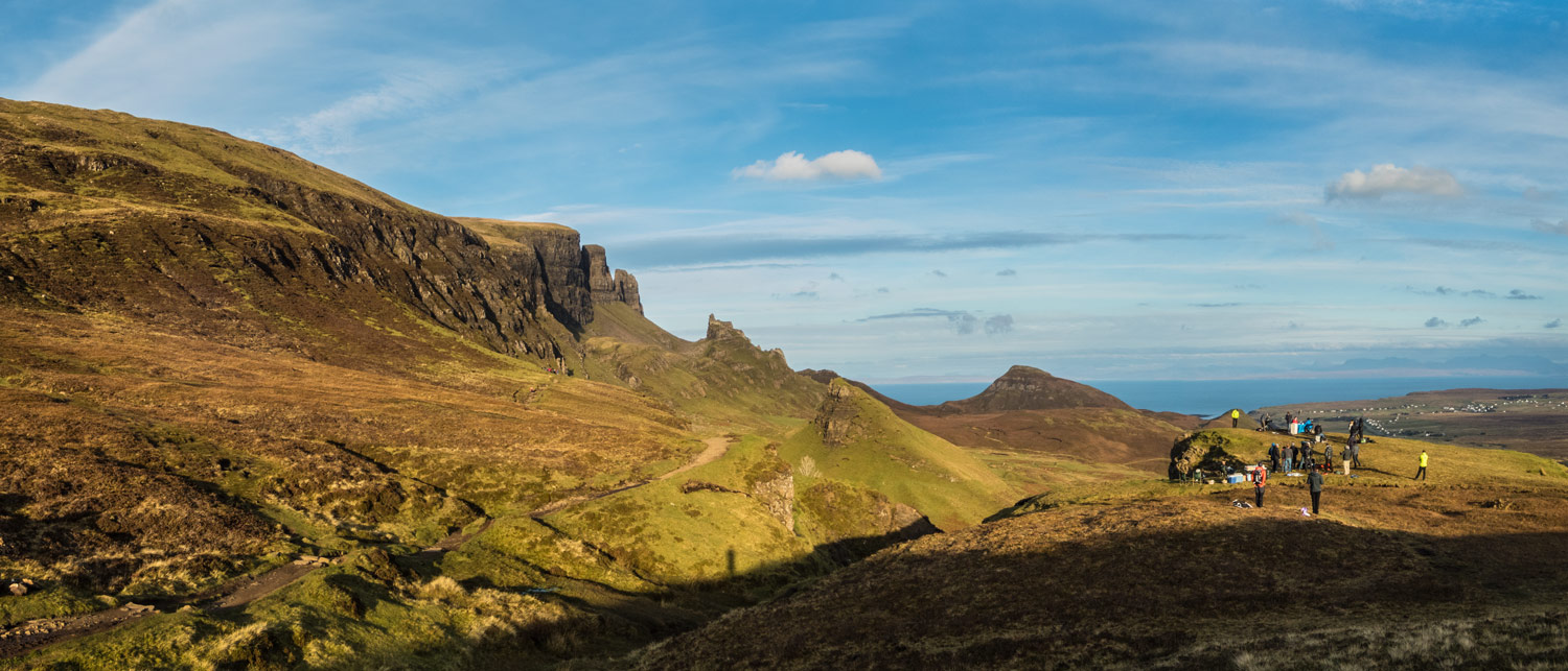An unforgettable day at the Quiraing.