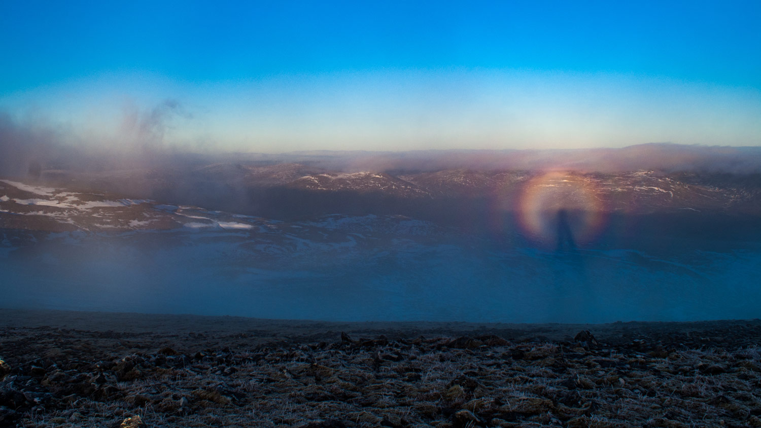 My first Brocken spectre was a sight I'll never forget.
