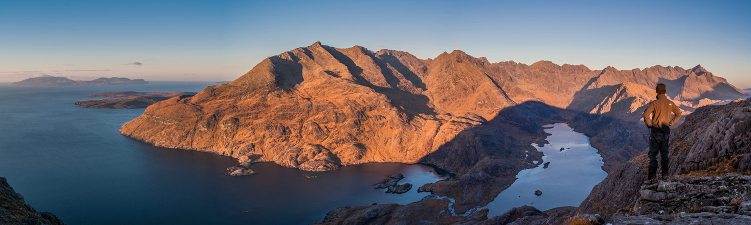 The Cuillin from Sgurr na Stri summit; the best view in Scotland.