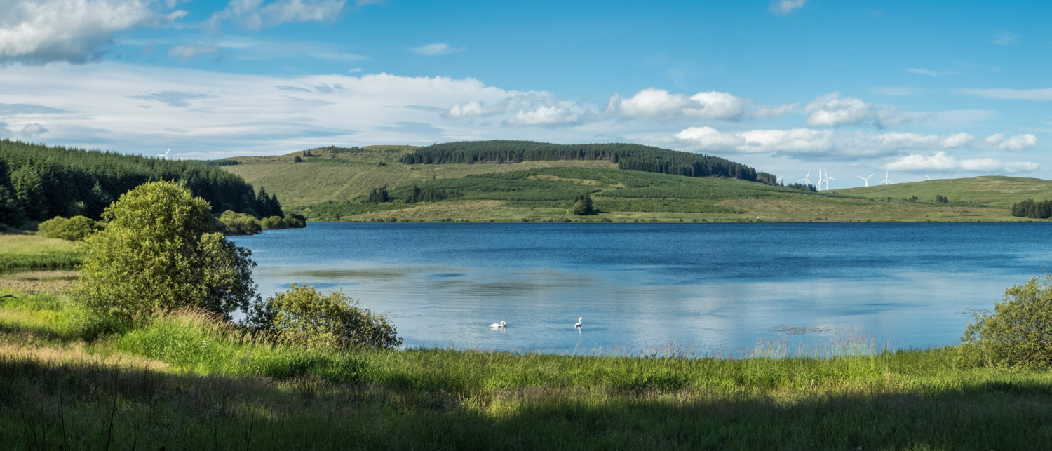 With views like this to walk and cycle around, I wish I had discovered Carron Valley sooner.